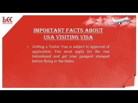 Everything about USA Visiting Visa