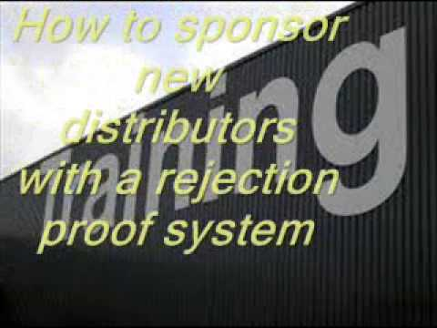 FREE MLM Training - Internet Sponsoring Part Two: New Distributors