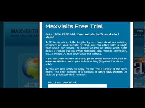 Max Visits Targeted Traffic Turns into Free Viral Traffic