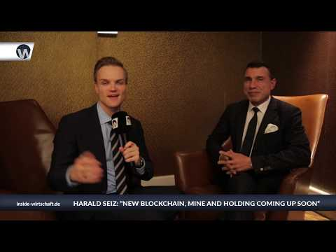 Brussels 2018  -  Interview with Harald Seiz about Blockchain