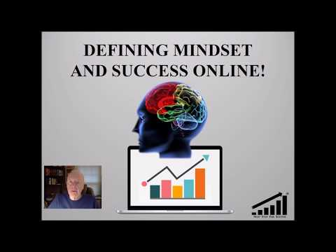 Defining Mindset and Success Online 2017