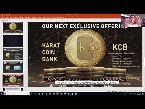 #Karatcoin Bank (#KCB) - #KBC- THE MOVEMENT!!!!!