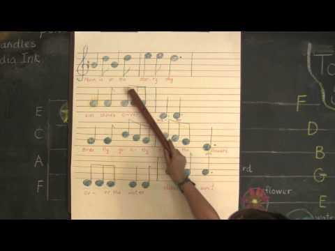 Waldorf Homeschool Flute Lesson #1