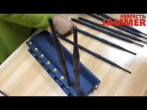 High Power Cell Phone Mobile Signal WiFi GPS Radio Jammer