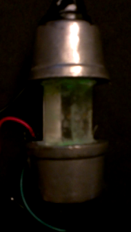 Power Regulating Crystal Mock up in Action
