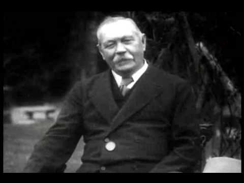 Arthur Conan Doyle Interviewed on Sherlock Holmes and Spirituality