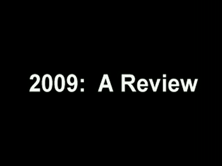 Review of 2009