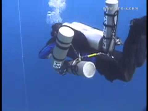 Video on 3 Bottle Stage Move Demo from Technical DVD scuba d