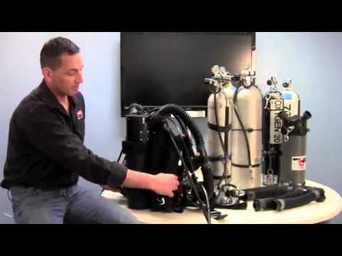 UTD Video Blog MXZ Rebreather Side-Mount or Backmount