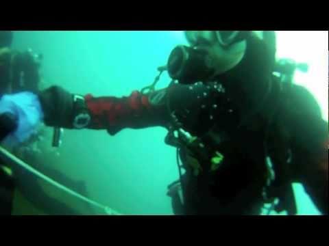 Dive X scooter test duikje in de galderse meren
