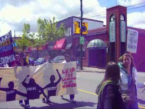 Vancouver May Day March and Rally