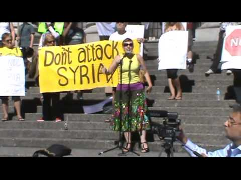 No War or Attack on Syria Aug 31 2013