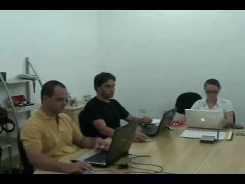 Apresentação da Equipe de Patrimônio Cultural pelo Sr.  Dési Rodrigues - Gestor de Projetos