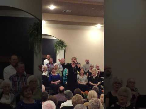 Lois Jane singing Glad Day Medley