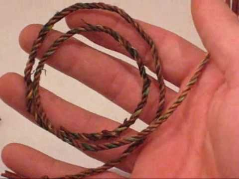 How to Make Natural Fiber Rope by TIAT (Key Survival Skill)