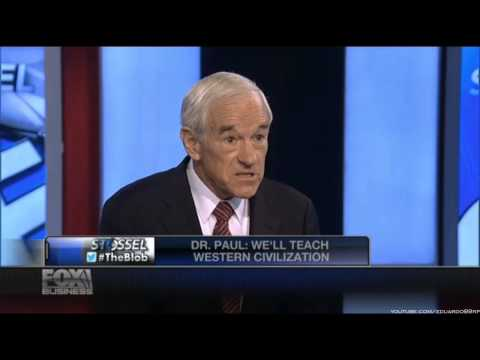 Ron Paul Discusses The Problems With Public Schooling And His Alternative Homeschooling Curriculum