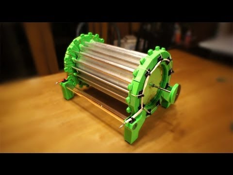 3D Printed AtmoMotor HV Atmospheric Motor - Wireless Energy
