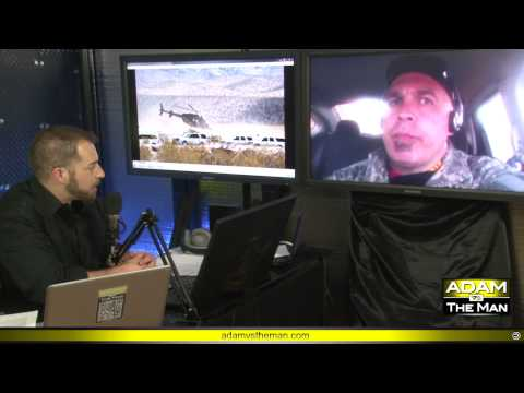 LIVE REPORT from the riot at the Bundy Ranch, near Las Vegas, Nevada