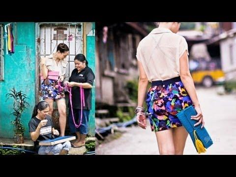 The Filipino Women Turning Rags into High Fashion