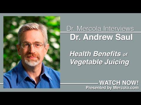 Andrew Saul Discusses Vegetable Juicing (condensed version)