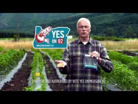 Dr. Ray Seidler, Former Senior Scientists, EPA: Vote YES on 92!