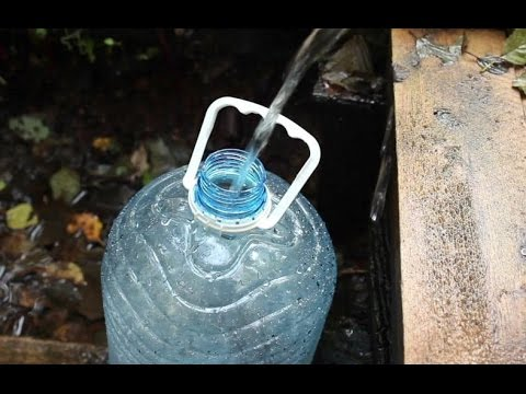Amazing way to filter water in emergency