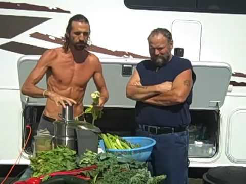 RAW FOOD WEIGHT LOSS 178 pounds! Dave the Raw Food Trucker VIDEO #10