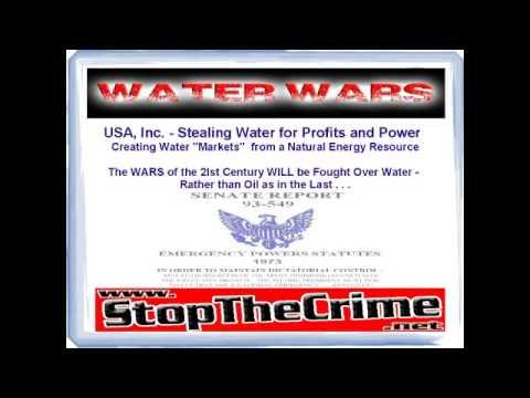 DEBORAH TAVARES AND JEFF RENSE ... WATER WARS .. WHAT YOU DON'T KNOW !