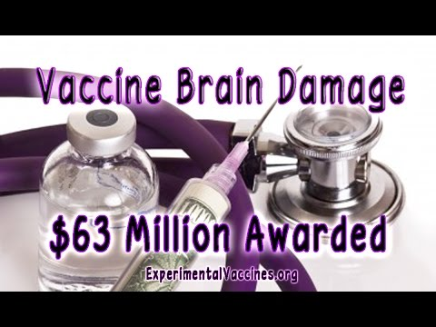 Court Awards 63 Million to Vaccine Brain Damaged Victims