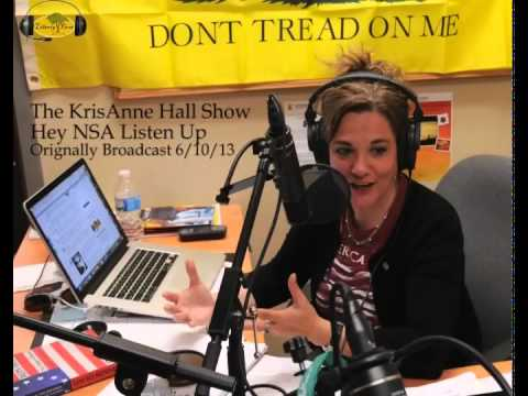Hey NSA! Listen Up and Learn Something About Liberty - The KrisAnne Hall Show