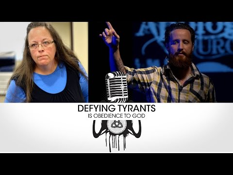 Defying Tyrants is Obedience to God - Sermon - Jeff Durbin #KimDavis