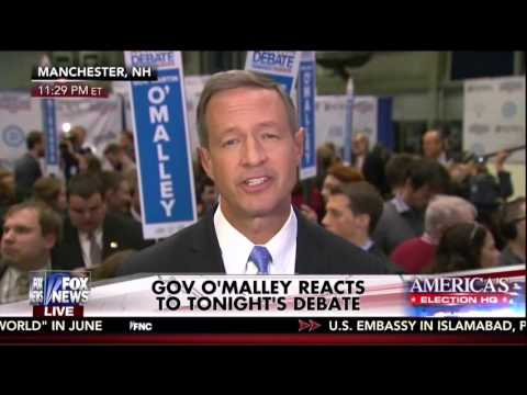 "Martin O'Malley: ""Secretary Clinton Has Taken Money Hand Over Fist"""