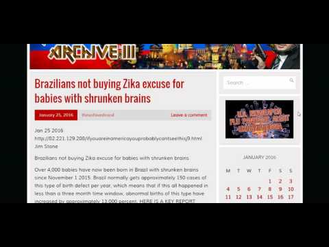 BRAZILIANS NOT BUYING ZIKA EXCUSE FOR SHRUNKEN BRAINS; BRAZIL MANDATED TDAP VACCINE