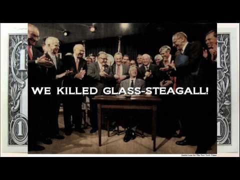 Who repealed the Glass-Steagall Act?