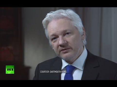 Secret World of US Election: Julian Assange talks to John Pilger (FULL INTERVIEW)
