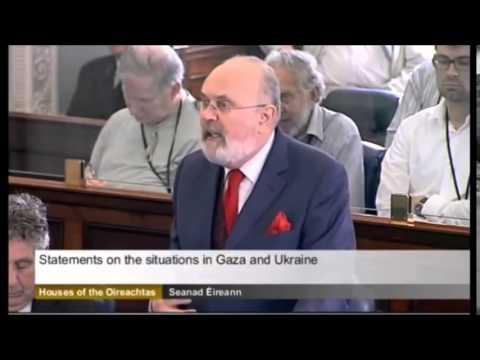 """Senator David Norris Blasts Israel: """"NAZI TALK!"""""""