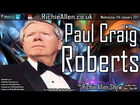 "Paul Craig Roberts ""If Donald Trump Is Real, The CIA/Secret Service Will Surely Assassinate Him!"""