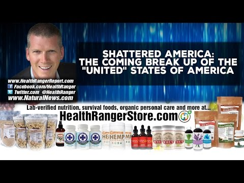 """Shattered America: The coming break up of the """"United"""" States of America"""