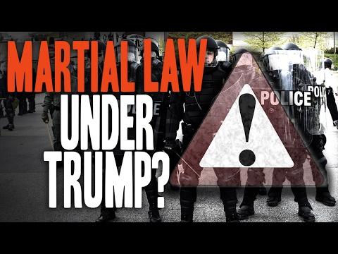 Martial Law WARNING: Radical Leftists pushing America toward Civil War