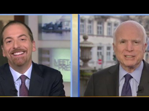McCain Links MSM to Establishment of New World Order