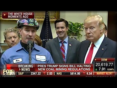 TRUMP JUST BROUGHT A COAL MINER ON TV & SUDDENLY REPORTERS EVERYWHERE FREAKED OUT!