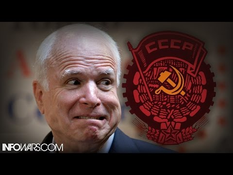 Exclusive: John McCain Caught Working For Russia, Elite Panic