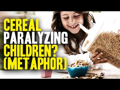 Breakfast Cereal Paralyzes Children (sort of...)