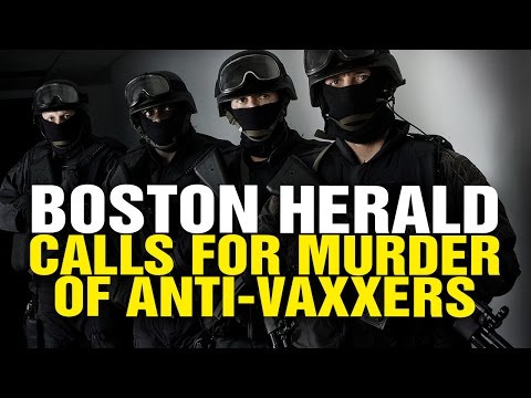 Boston Herald calls for mass executions of anti-vaxxers