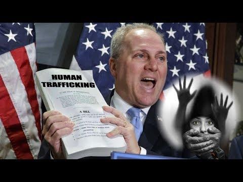 Was Congressman Shot For Investigating Human Trafficking?