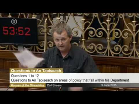 Irish MP Calls Out Israeli Establishment