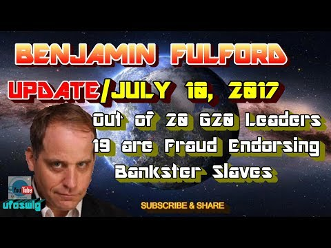 Benjamin Fulford: July 10, 2017