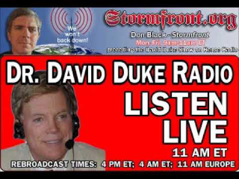 Dr David Duke Radio Show (17th of August 2017)