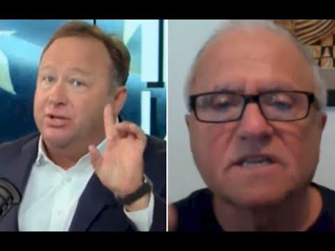 Alex Jones Heated Debate On Trump & Afghanistan | Alex Jones vs Steve Pieczenik