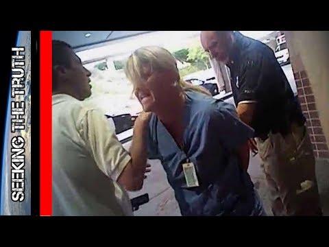 Nurse Forcibly Arrested For Simply Doing Her Job - Salt Lake City, Utah